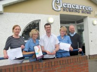 Staff Nursing Care Awards for staff of Glencarron Nursing Home