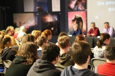 Students at World Space Week