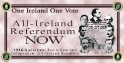 Fearon calls for referendum on Irish unity
