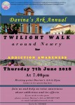 Davina's Ark Annaul Twilight Walk Around Newry