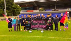 Football Tournament to Combat Homophobia - Foyle Pride Festival