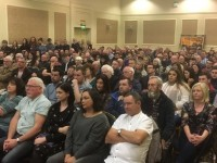 Hundreds Turn Out to Hear Gerry Adams Deliver Peter Corrigan Lecture