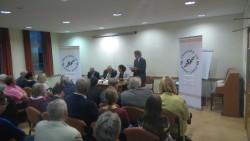 Brady address British Labour fringe event