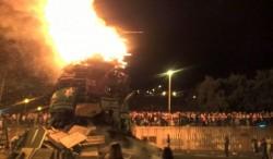 McCartney Condemns Bonfire Disturbances and Security Alert