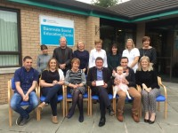 Family of Michelle Doyle donate to Bannvale SEC in her memory