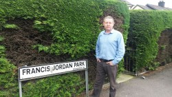 Mickey Larkin called for an end to Reckless Driving at Jonesborough