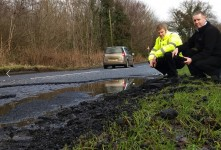 Councillor Raises Dromintee & Meigh Road Defect Concerns with Roads Service