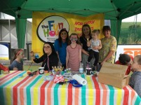Cllr Harte Congratulates Fun Day by Autism Families