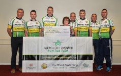 Cyclists raise much-needed funds for MS charity in Newry