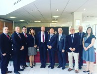 Newry Chamber representatives meet with UK First Secretary of State