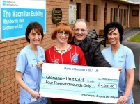 McIntyre's donate to the Glenanne Unit