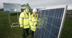 Boylan Encourages Companies to Invest in Renewable Energy