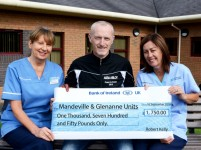 Robert gets on his bike to raise funds for local cancer units