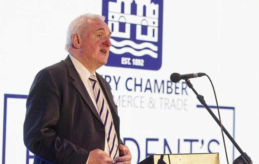 No hard border in Ireland in our lifetimes ex-taoiseach tells Newry dinner