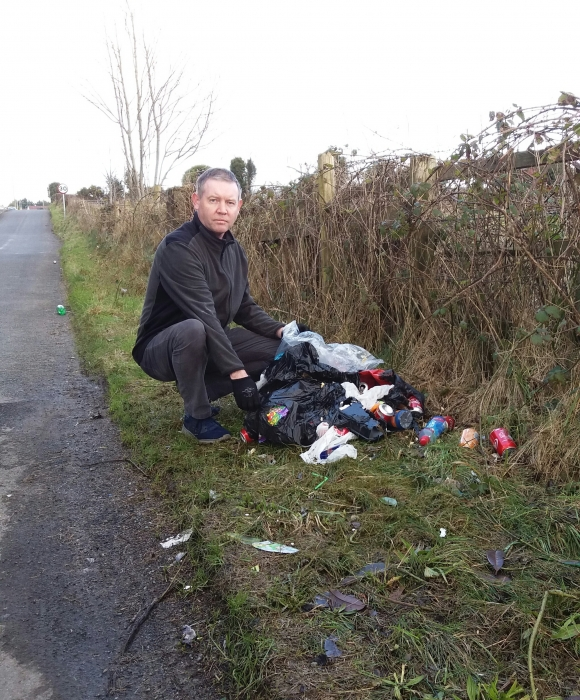 Fly-tipping Described as a Blight on the Beauty of Gullion
