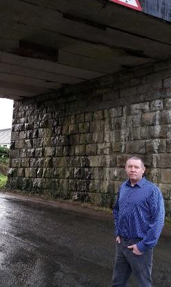 Councillor Highlights Railway Bridge Fears